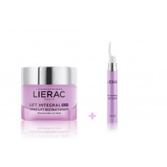 LIERAC LIFT INTEGRAL NUIT RESTRUCTURING LIFT CREAM 50mL & LIERAC LIFT INTEGRAL EYE LIFT SERUM 15mL