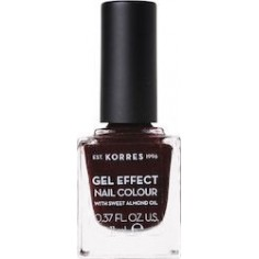 KORRES GEL EFFECT NAIL COLOUR No54 FESTIVE RED 11mL