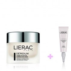 ΠΡΟΣΦΟΡΑ LIERAC DERIDIUM NUTRITIVE  50ML & LIERAC DIOPTIRIDE EYE CREAM 15ml