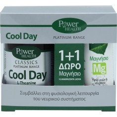 POWER PLATINUM COOL DAY  30tabs +ΔΩΡΟ MAGNESIUM 10eff.tabs