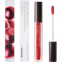 KORRES MORELO VOLUMINOUS Lipgloss No54 Real Red 4ml