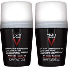 VICHY Homme Deo Roll-on Anti-transpiran 72h 50ml 2τμχ