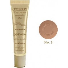 Coverderm Peptumax Concealer Plus Anti-Wrinkle SPF50+ 02 10ml