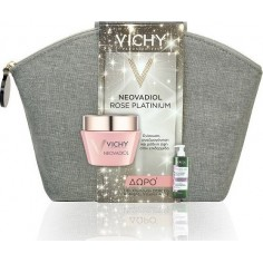 Vichy Rose Platinum &Δώρο Dercos Nutrients Vitamin A.C.E Shampoo 100ml & Συλλεκτικό Νεσεσέρ