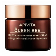 APIVITA QUEEN BEE holistic AGE DEFENSE Night Cream 50ml ΜΕ ΔΩΡΟ ΝΕΣΕΣΕΡ QUEEN BEE