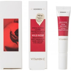 Korres Wild Rose Eye Cream Vitamin C 15mL