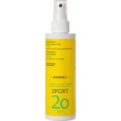 Korres Sport Body Spray Suncare Spf20 200ML