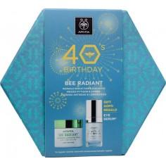 Apivita PROMOPACK Bee Radiant Light 50ml & 5-action Eye Serum 15ml