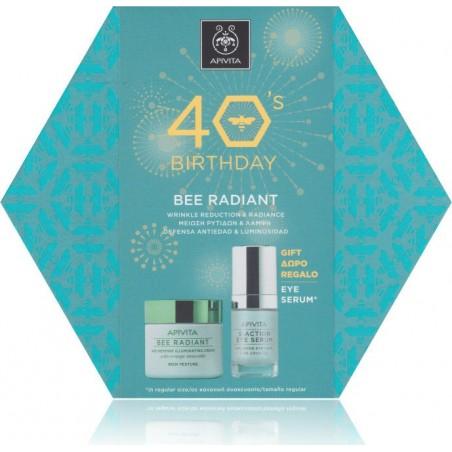 APIVITA Bee Radiant Πλούσια Υφή 50ml & Δώρο 5-Action Eye Serum 15ml