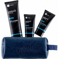 PANTHENOL EXTRA MEN Face and Eye Cream 75ml & After Shave Balm 75ml & 3 in 1 Cleanser 200ml
