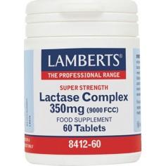 LAMBERTS LACTASE COMPLEX 350mg (9000fcc) 60tablets