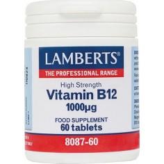 LAMBERTS B-12 1000mcg 60tabs