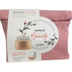 VICHY Unfold Your Beauty Set Neovadiol Magistral 50ml & ΔΩΡΟ Phytosculpt 15ml&Double Glow Peel Mask 15ml&Mineral 89 Eyes 1ml