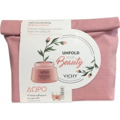 VICHY Set Neovadiol Rose Platinum 50ml&ΔΩΡΟ Phytosculpt 15ml&Double Glow Peel Mask 15ml&Mineral 89 Eyes 1ml