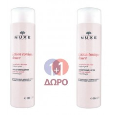 NUXE LOTION TONIQUE DOUCE 200ml+200ml