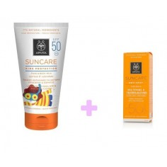 APIVITA SUN Face & Body SPF 50+ Kids 150ml ΔΩΡΟ SUNCARE ANTISPOT 15ML