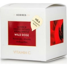 KORRES WILD ROSE CREAM ΚΑΝ/ΜΕΙΚΤΕΣ 40ml