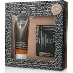 KORRES Set Sea Mud Σαπούνι 150g & Mountain Pepper Bergamot Coriander After Shave Balm 125ml