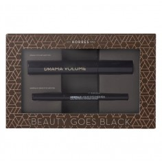 KORRES BEAUTY GOES BLACK Set Mascara & Eyeliner Pen