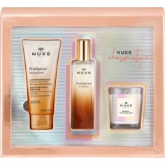 NUXE Charismatique Set Prodigieux Le Parfum Spray 50ml & ΔΩΡΟ Body Lotion 100ml & Κερί Prodigieux 70g