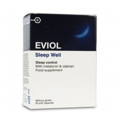 EVIOL SLEEP WELL 60CAPS