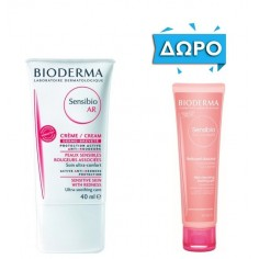 BIODERMA SENSIBIO AR Cream 40ml ΔΩΡΟ BIODERMA SENSIBIO Gel Moussant 45ml