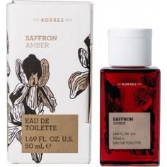 KORRES Saffron Amber Eau de Toilette Γυναικείο Άρωμα 50ml