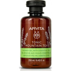 Apivita Shower Gel Tonic Mountain Tea 250ml