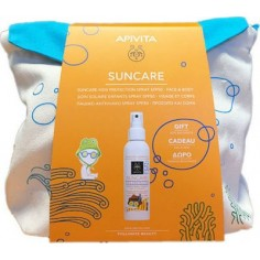 APIVITA SUN Face & Body 50+spf Kids Spray 150ml &ΔΩΡΟ Backpack