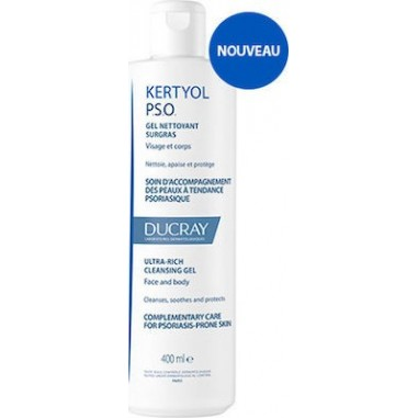 Ducray Kertyol P.S.O. Ultra Rich Cleansing Gel 400ml