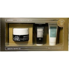 Korres Black Pine 3D FOR DRY SKIN 40ml & Night Cream 16ml & Κρέμα Καθαρισμού 16ml