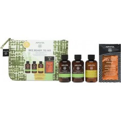 APIVITA TRAVEL KIT Tonic Mountain Shower Gel 75ml & Body Milk 75ml & Frequent Use Shampoo 75ml & Hair Mask Orange 20ml