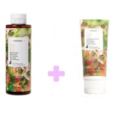 Korres Pistachio Shower Gel 250ml&Korres Pistachio Body Milk 200ml