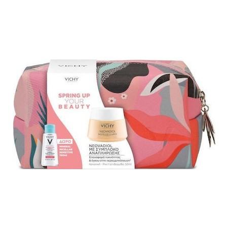 Vichy Promo Spring Up Your Beauty Neovadiol 50ml & ΔΩΡΟ Mineral Micellar Sensitive100ml & Νεσεσέρ