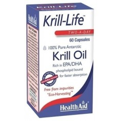 HEALTH AID KRILL LIFE OIL  60caps