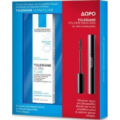 La Roche Posay Toleriane Ultra Fluid 40ml & Toleriane Volume Mascara Mini 4.5ml