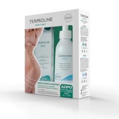 SYNCHROLINE - PROMO PACK TERPROLINE Body Cream (125ml) ΜΕ ΔΩΡΟ CLEANCARE Intimo (200ml)
