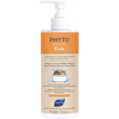 PHYTO SPECIFIC KIDS MAGIC DETANGLING SHAMPOO AND BODY WASH 400mL