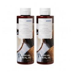Korres Coconut Water Shower Gel 2x250ml