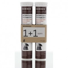 KORRES  Συμπλήρωμα Acerola & Vitamin C 2x20eff.tabs