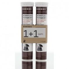 KORRES SUPPLEMENT WITH Acerola & Vitamin C 2x20eff.tabs
