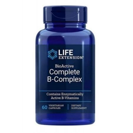 LIFE EXTENSION BIOACTIVE COMPLETE B-COMPLEX 60 VEG.CAPS L.E.