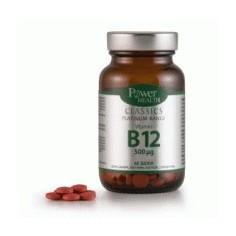 POWER Classics Platinum - Vitamin B12 60 tablets