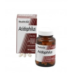 HEALTH AID ACIDOPHYLUS  60caps