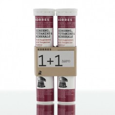 KORRES Συμπλήρωμα Ginseng , Vitamins & Minerals 1+1 Δώρο
