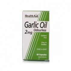 HEALTH AID GARLIC OIL 2mg. 30caps