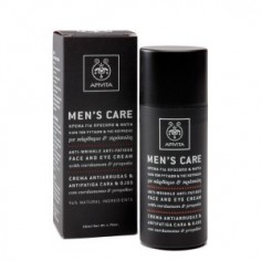 APIVITA MEN'S CARE ANTI-WRINKLE FACE & EYE CREAM 50ml