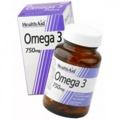 HEALTH AID OMEGA 3 750mg. 30caps