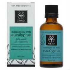 APIVITA Eucalyptus Λάδι Μασάζ 50ml