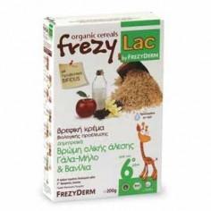 G FREZYLAC Δημητριακά Βρώμη Γάλα-Μήλο & Βανίλια (Από τον 6ο μήνα) 200gr